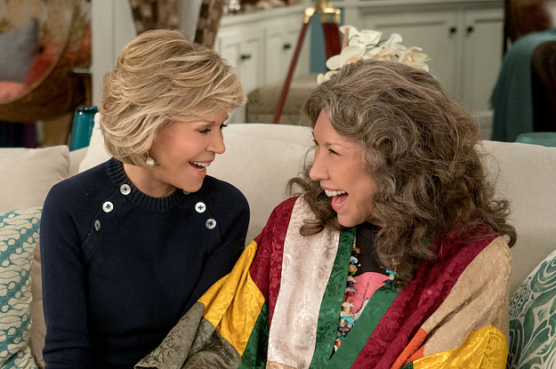 """""""Grace And Frankie"""" Has Been Renewed For A Seventh And Final Season"""