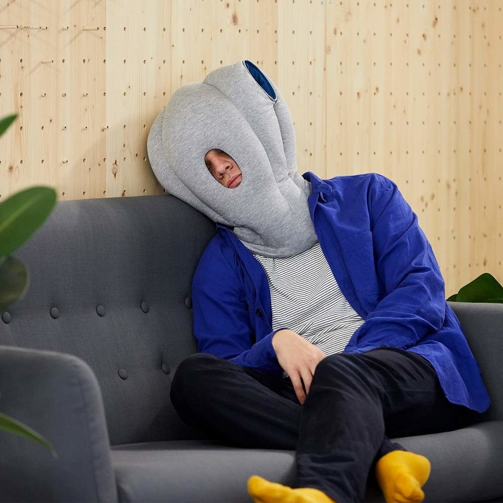 pillow that covered entire head