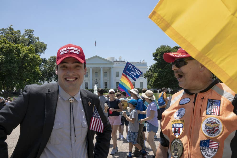 Bikers For Trump Are Leading The President's New American