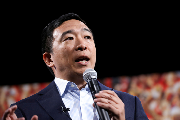 Andrew Yang Calls For Increased Regulation Of Amazon