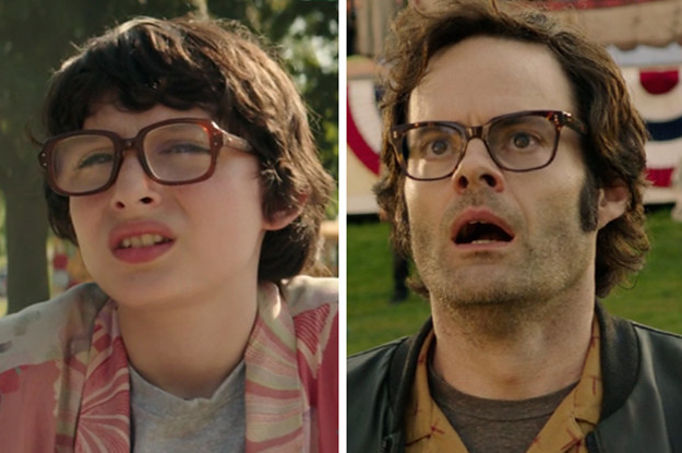 "9 Side-By-Side Photos Of The Kids Vs. Adults In ""It Chapter Two"""
