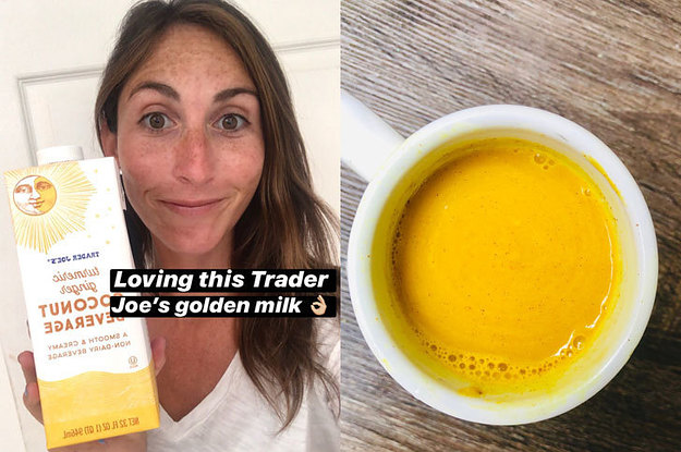 Trader Joe's Turmeric Ginger Coconut Milk Is My New Go-To