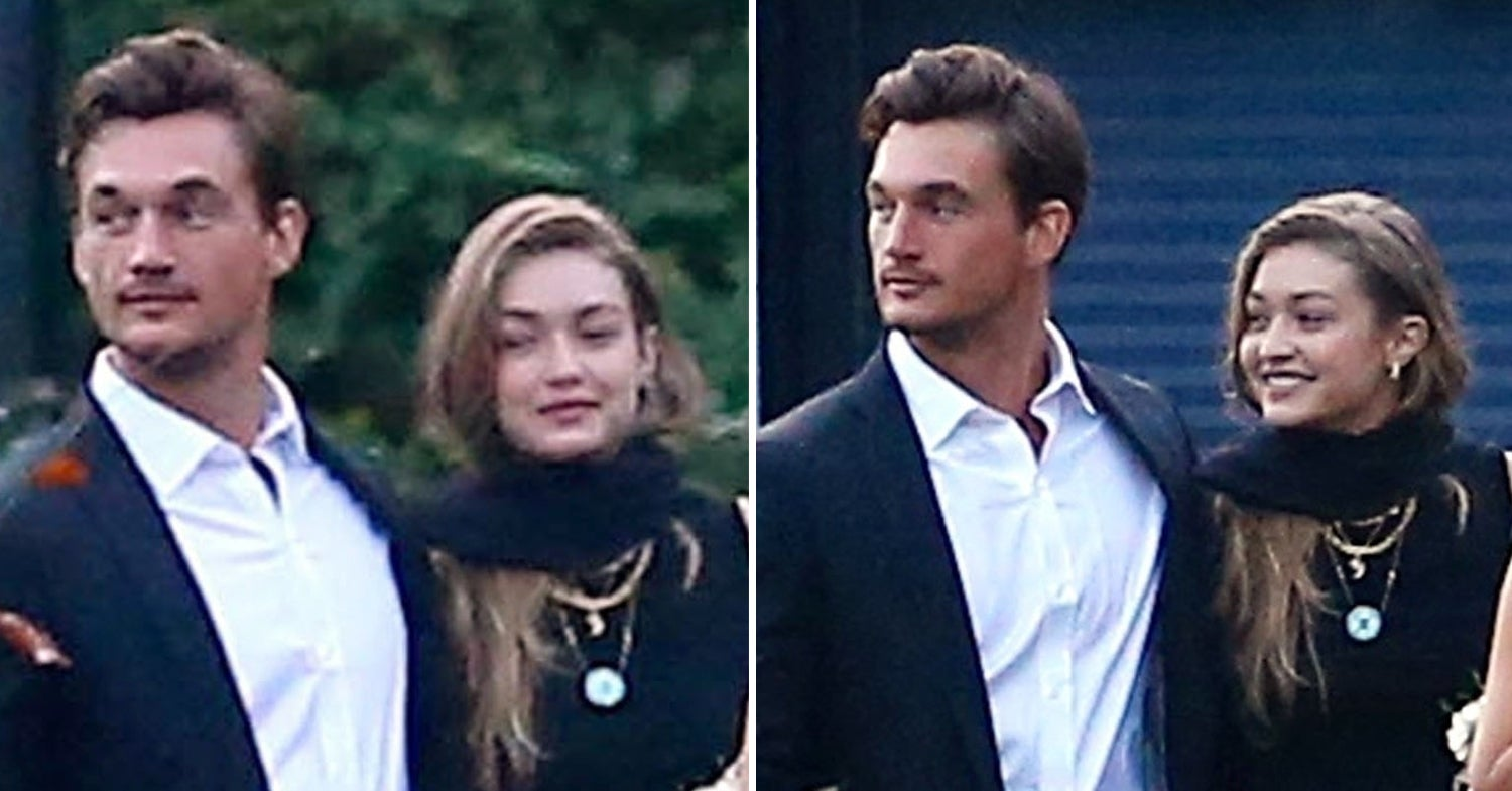 Tyler Cameron Accompanied Gigi Hadid To Her Grandma's Funeral, So I Guess This Is Really Happening