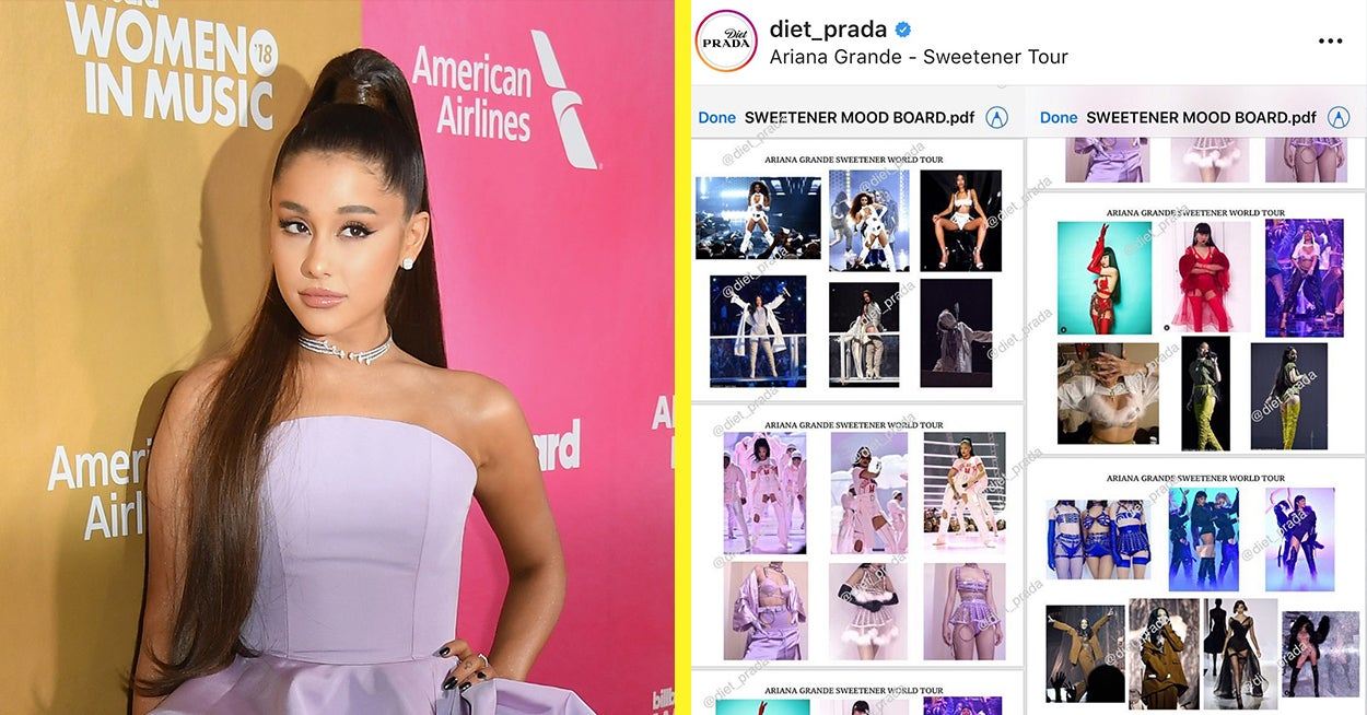 A Mood Board From Ariana Grande's Tour Has Leaked And Now People Are Accusing Her Of Cultural Appropriation