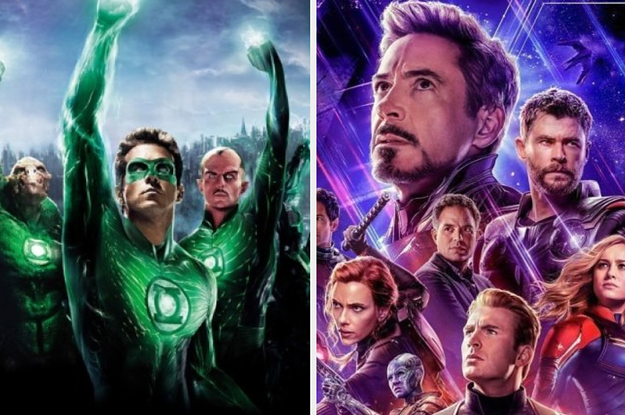 I Bet You Can't Tell If These Are Marvel Or DC Films Just