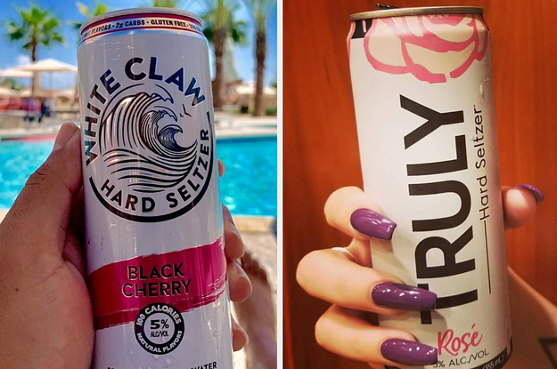 Drink Your Way Through Some Spiked Seltzer And We'll Show You A Pic Of Who You'll Marry
