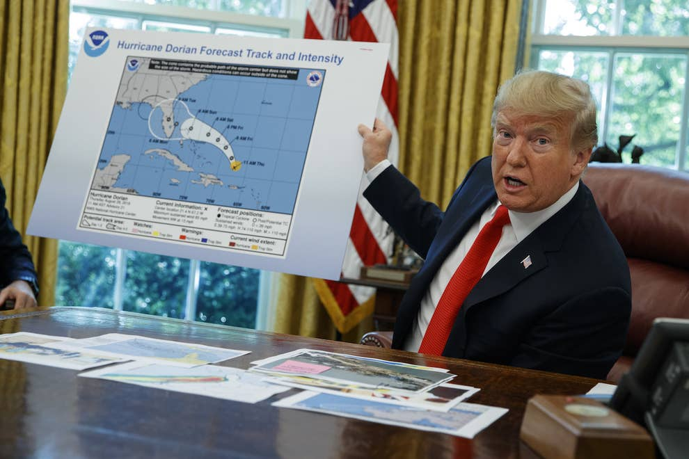 Meteorologists Are Outraged After NOAA Backed Trump's False