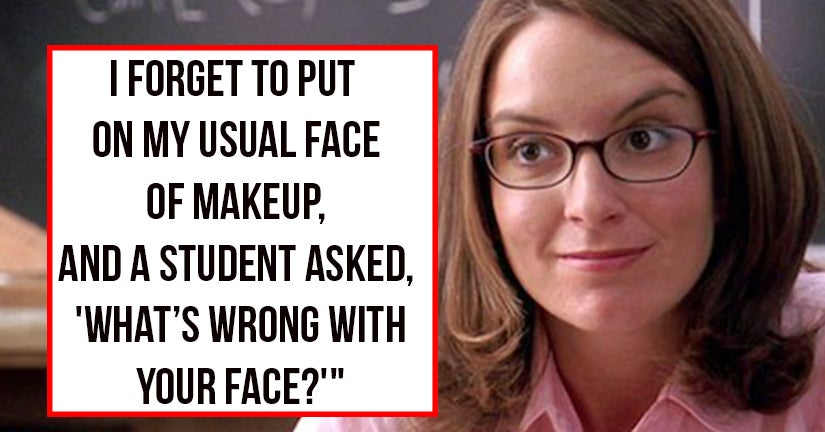 17 Hilariously Devastating Insults Teachers Heard From Their Students