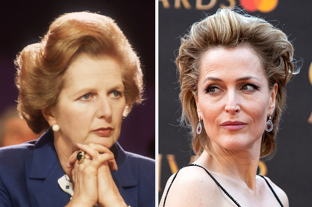 Gillian Anderson Will Be Playing Margaret Thatcher In