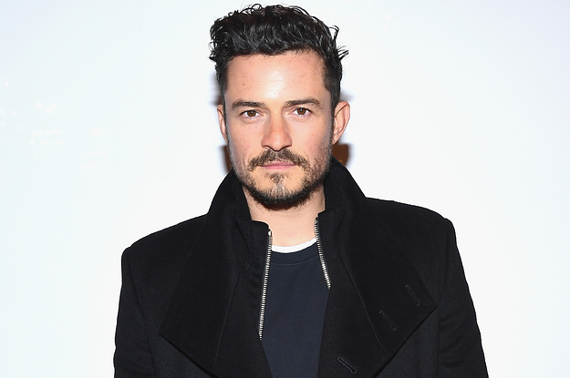 "Orlando Bloom Wants You To Know That His Eggplant Is ""Not That Big"""