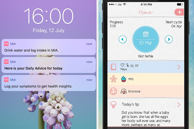 Period Tracker Apps: Maya And MIA Fem Are Sharing Deeply