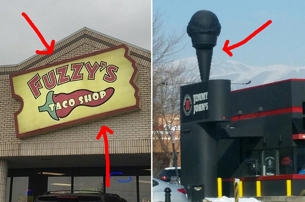 21 Places That Clearly Used To Be Different Places