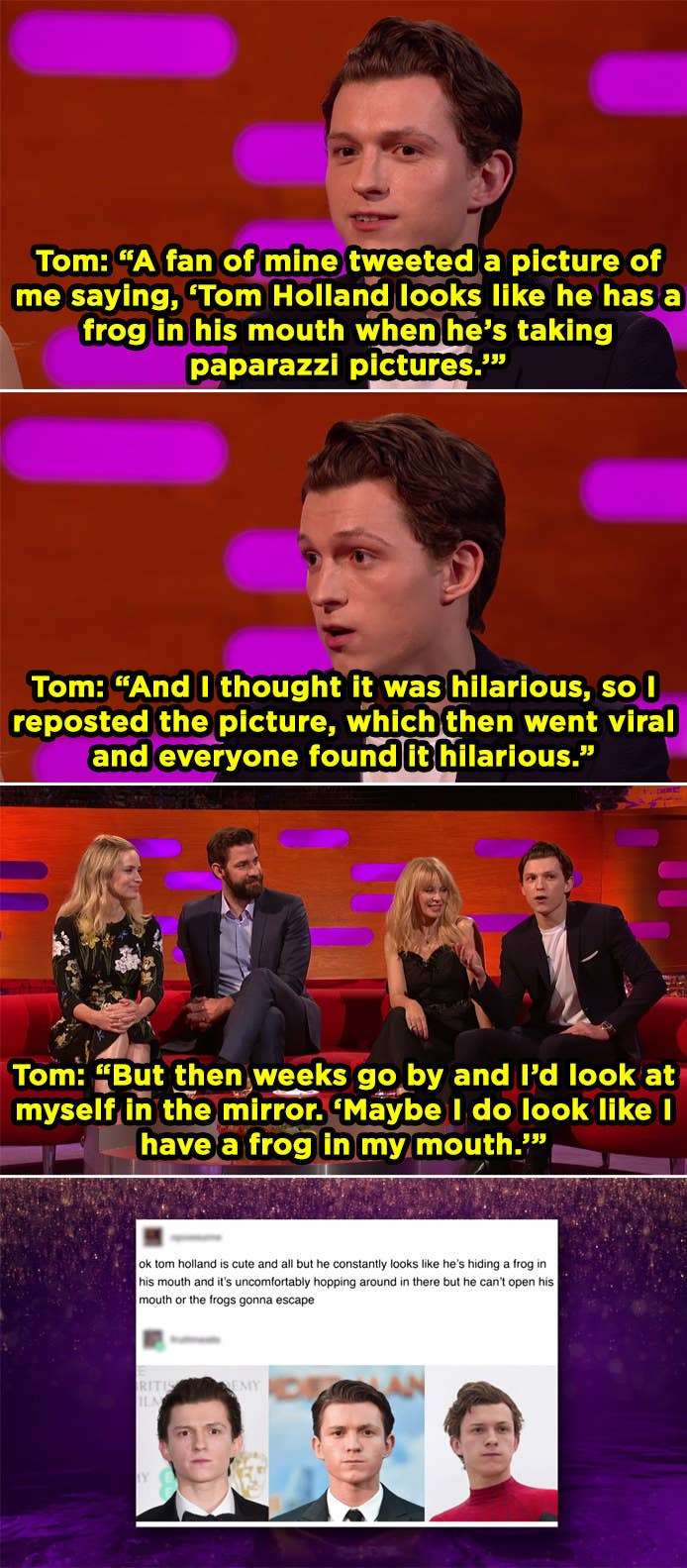 20 Moments That Are Peak Tom Holland