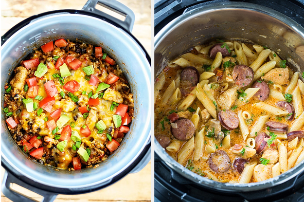 16 Instant Pot Dinners You Can Make In Less Than 30 Minutes