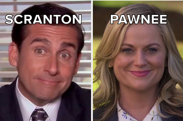 Are You From Scranton Or Pawnee?