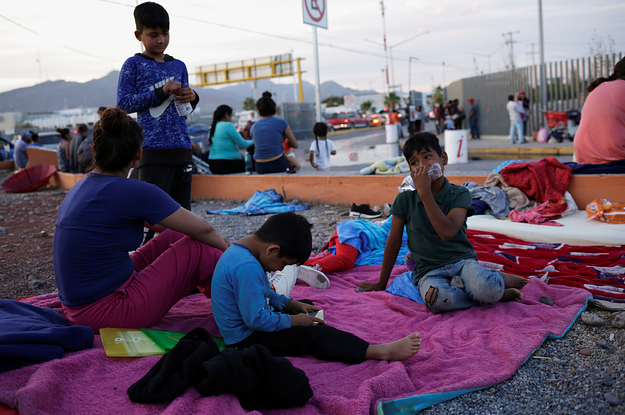 Asylum-Seekers Are Trying To Flee Violence In Mexico. The US Is Sending Them Right Back.