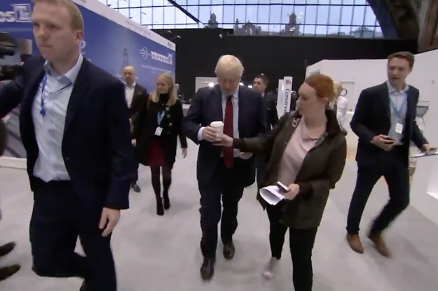 This Disposable Coffee Cup Drama Between Boris Johnson's Aides Is Lighting Up The Internet