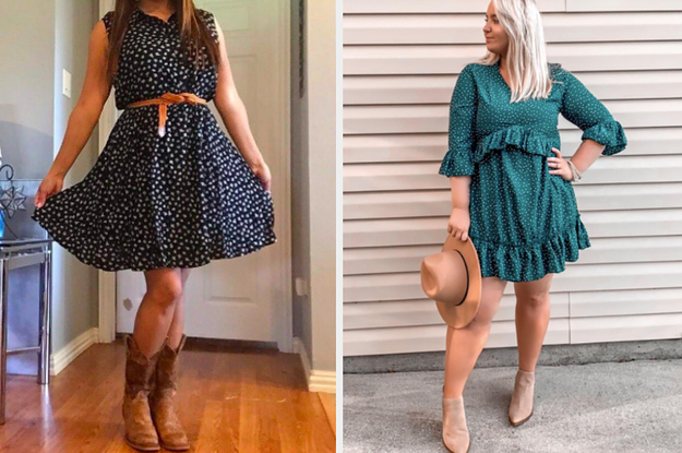 26 Dresses That'll Pair Perfectly With Boots