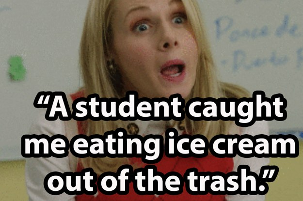 17 Of The Most Embarrassing Things Teachers Were Caught Doing By Their Students