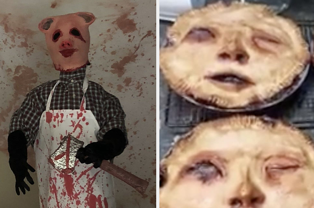 17 Halloween Decorations So Scary, You'll Be Able To Charge Admission