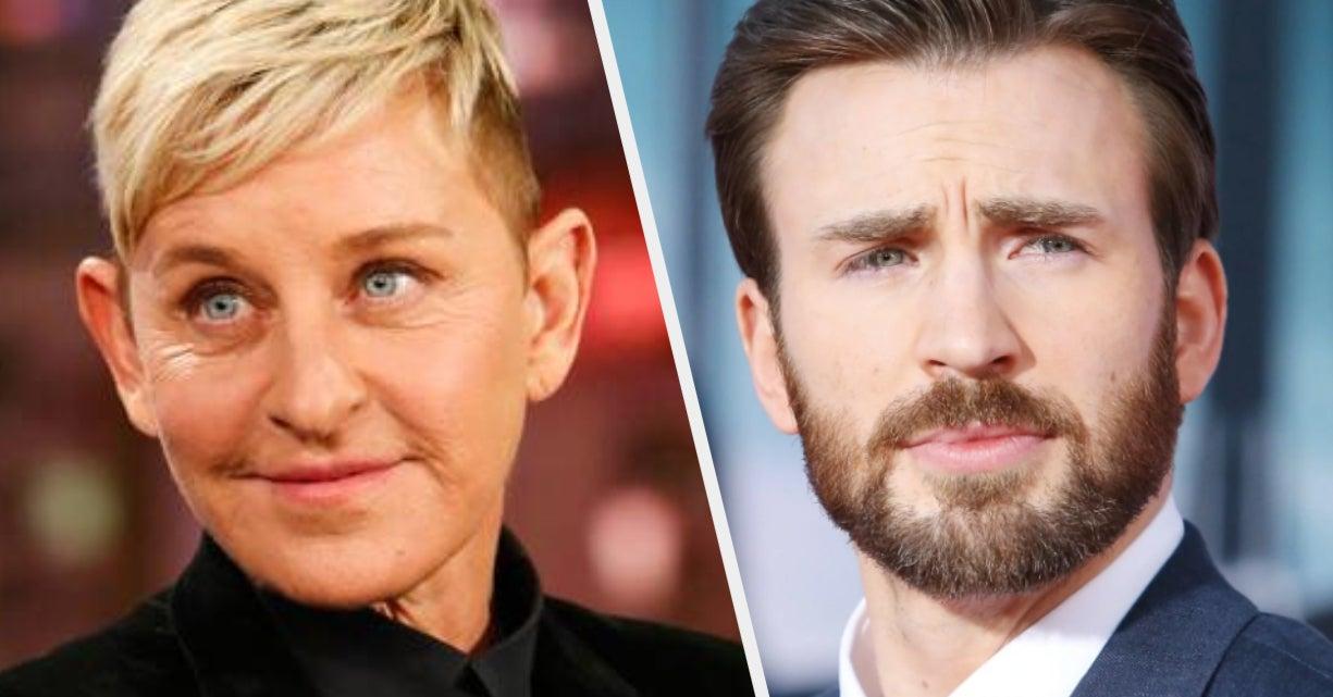Ellen DeGeneres, Chris Evans, And The Celebrity Fetish For Kindness