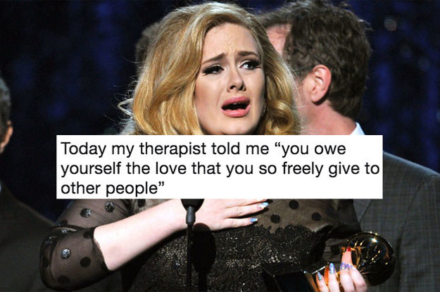 """25 Mind-Blowing Tweets About Therapy That'll Make You Say, """"Damn, That's True"""""""