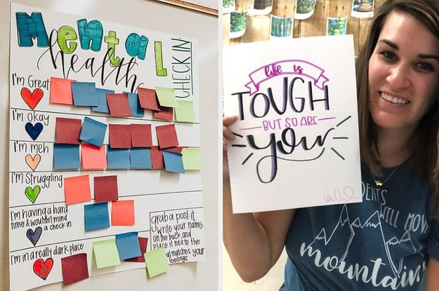This Teacher Came Up With A Really Innovative Way To Find Out How Her Students Are Feeling And Other Teachers Are Inspired