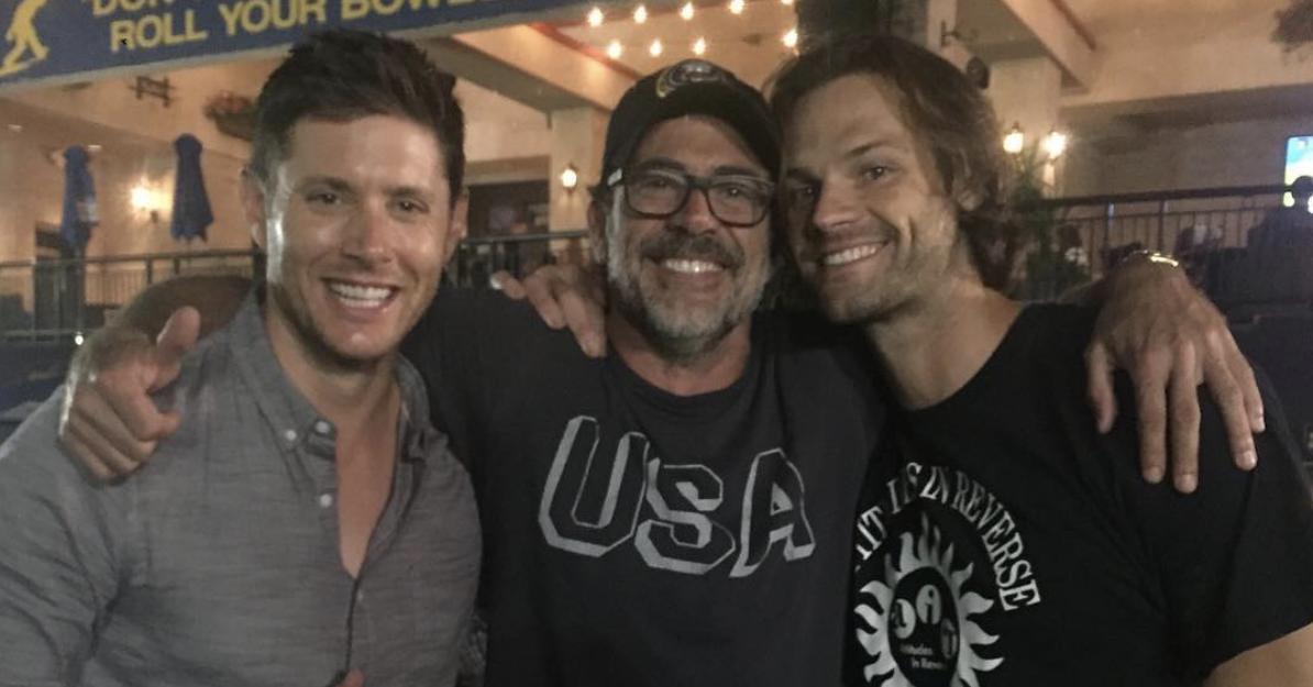"Jensen Ackles, Jared Padalecki, And Jeffrey Dean Morgan Got Matching ""Supernatural"" Tattoos And It's Too Precious"