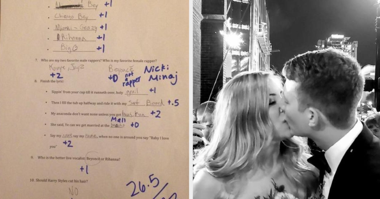 A Woman Made Her Boyfriend Take A Beyoncé Exam To Date Her — Now They're Married