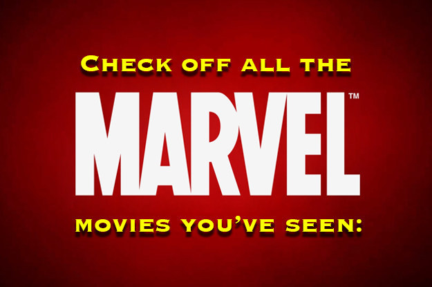 How Many Marvel Movies Have You Seen?