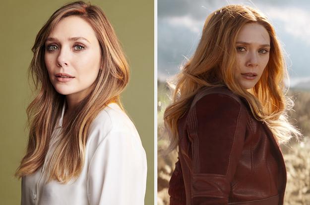"Elizabeth Olsen Shared Details About ""WandaVision"""