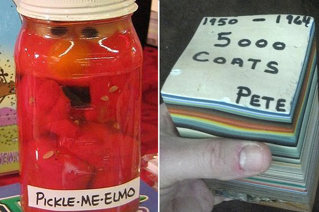 19 Of The Most Bizarre Things People Have Found At Garage Sales