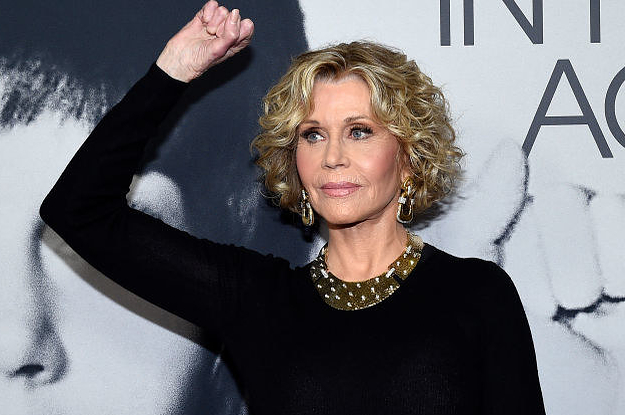 Jane Fonda Was Arrested At The US Capitol While Protesting Over Climate Change