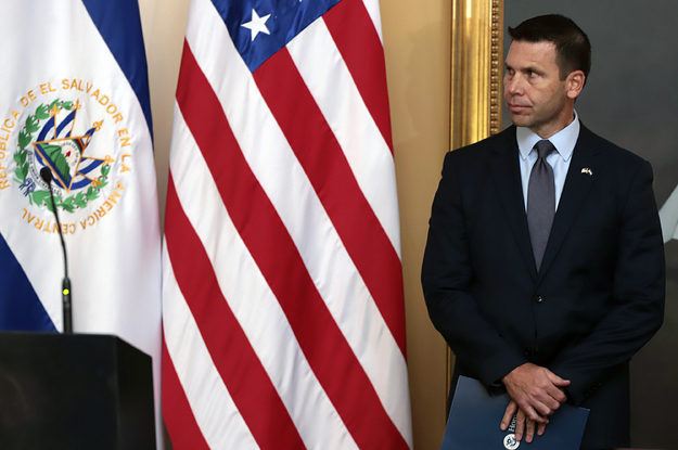 Acting Homeland Security Secretary Kevin McAleenan Is Stepping Down