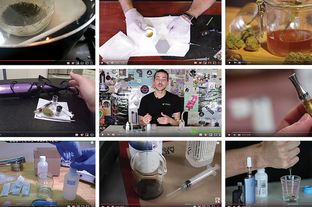 Dozens Of YouTube Videos Are Showing People How To Make Potentially Dangerous Vape Oil