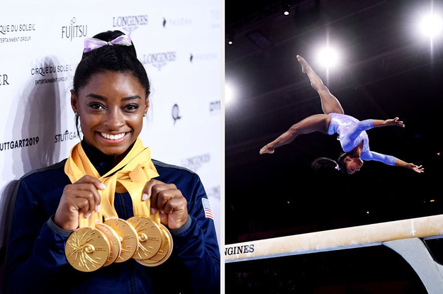 Simone Biles Now Has The Most World Championship Medals Of Any Gymnast Ever