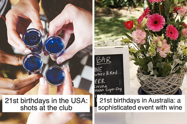 22 Things That Prove 21st Birthdays Are VERY Different In America Vs. Australia