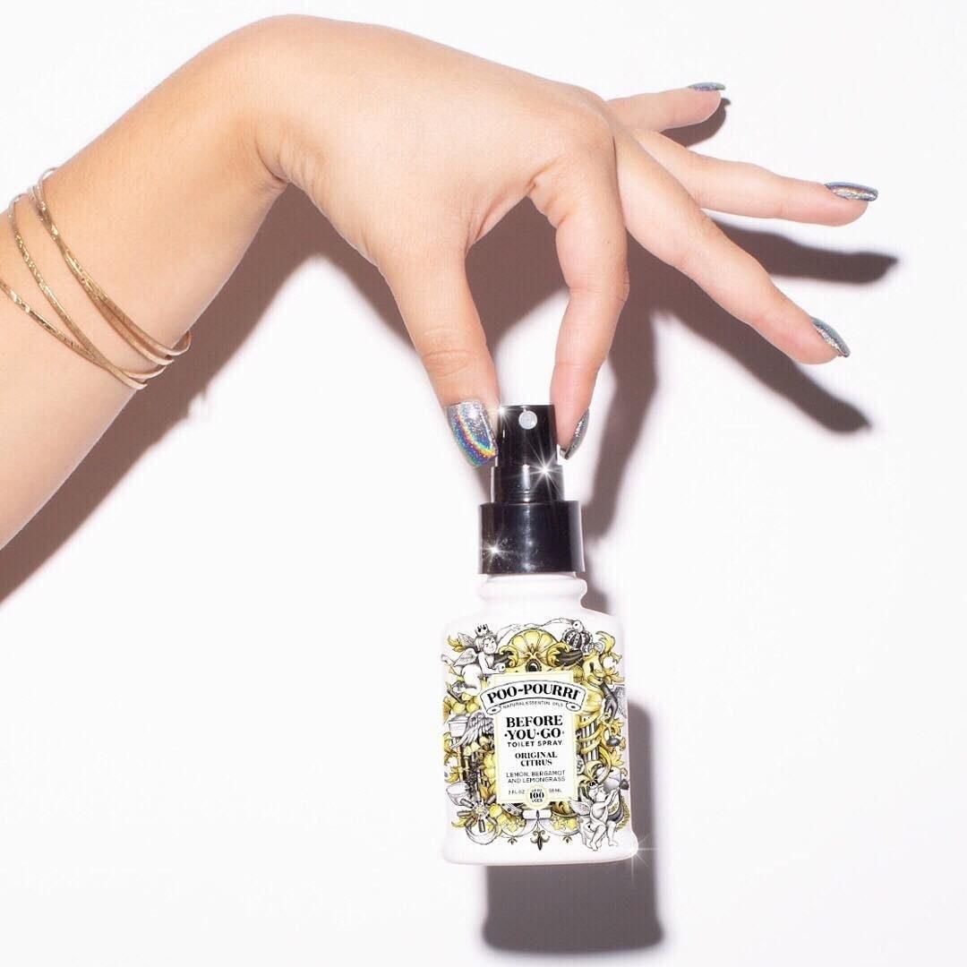 Poo-Pourri before-you-go spray in original citrus scent