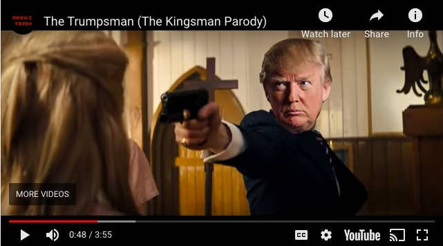Image result for images of the trumpsman video