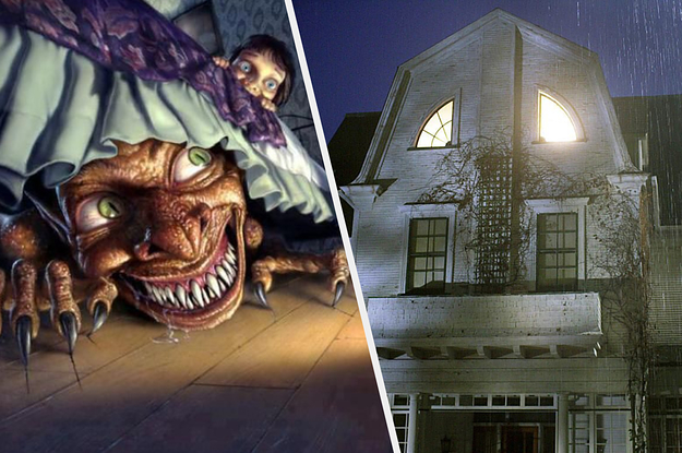 Design A Haunted House To Reveal Who's Hiding Under Your Bed