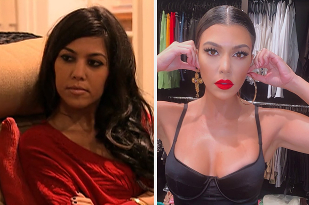Here's A Side-By-Side Of All The Kardashians And Jenners Now Vs. When Their First Episode Aired In 2007