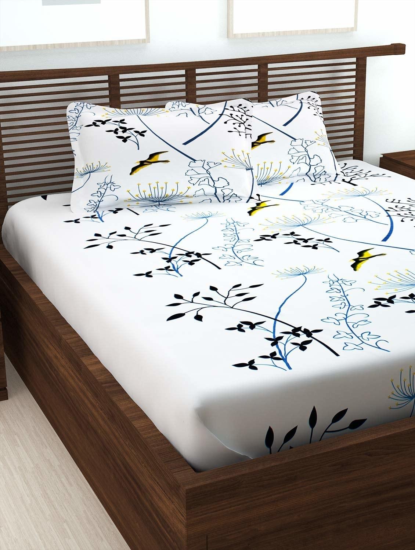 A white bedsheet