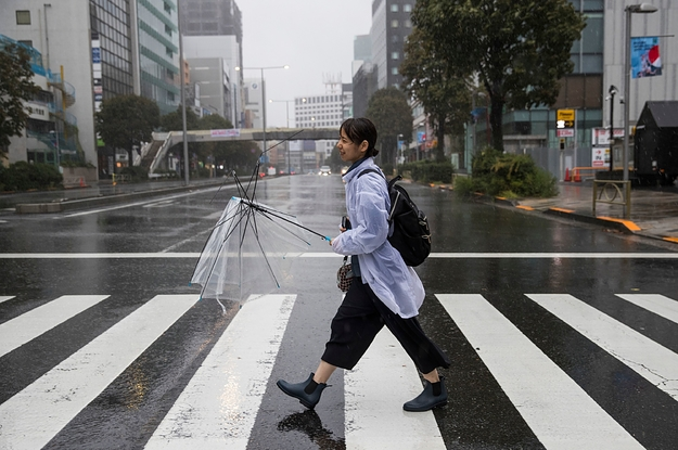 These Photos Show The Destruction Of Typhoon Hagibis In Japan