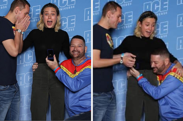 Brie Larson Witnessed A Gay Marriage Proposal And Her Reaction Is So Precious