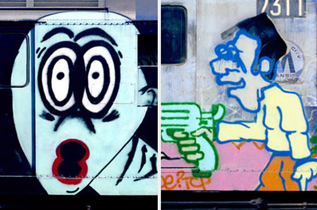 20 Incredible Pictures From The Glory Days Of New York City Graffiti