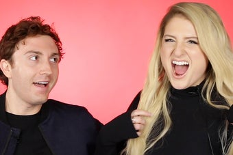 Meghan Trainor And Daryl Sabara Took Our Relationship Quiz And Now We Know All About *That* Sex Store Trip