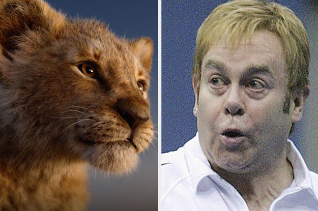 """Elton John Really Didn't Like The New """"Lion King"""" And Called It A """"Huge Disappointment"""""""