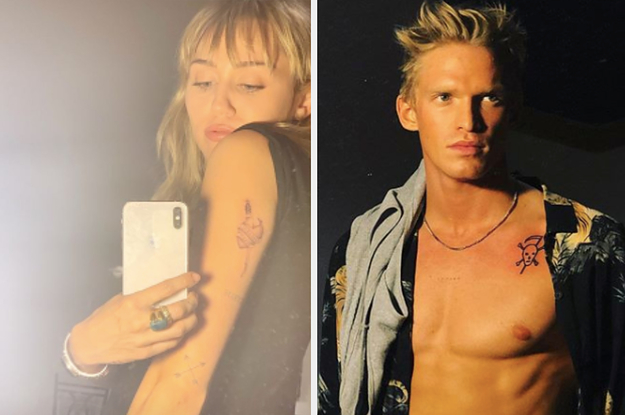 Miley Cyrus And Cody Simpson's Relationship Just Got Even More Official After They Got Tattooed Together