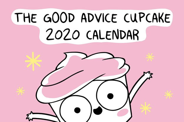 The Good Advice Cupcake Calendar Is Here, And It's Basically Perfect