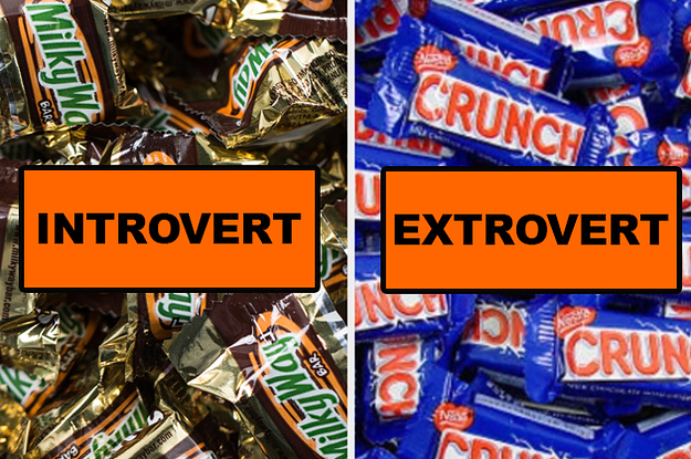 Can We Guess If You're An Introvert Or An Extrovert Based On Your Halloween Candy Preferences?